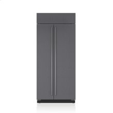"""36"""" Classic Side-by-Side Refrigerator/Freezer - Panel Ready"""