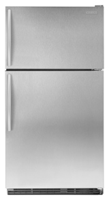 Standard-Depth Top-Freezer Refrigerator - Stainless Steel