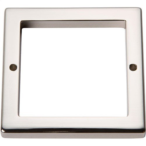 Tableau Square Base 2 1/2 Inch - Polished Nickel