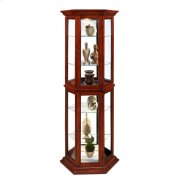 Cherry Trapizode Mirrored Curio Product Image