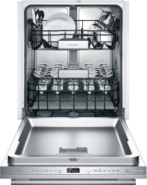 24-Inch Masterpiece® Stainless Steel Glass Care Center DWHD771WFM