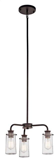 Braelyn 3 Light Convertible Chandelier Olde Bronze®