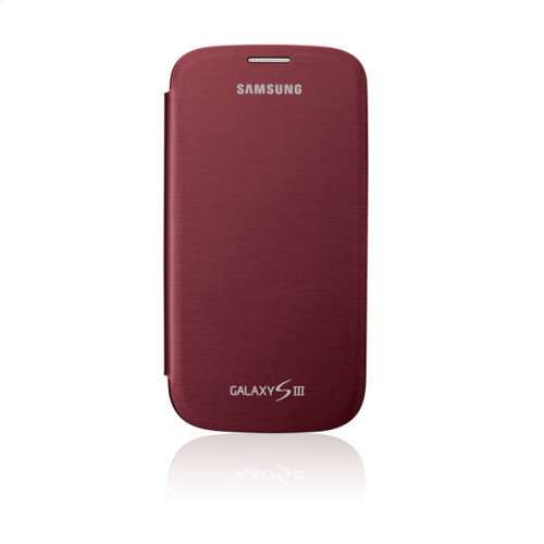 Galaxy S® III Flip Cover, Red