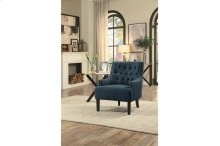 Accent Chair, Indigo