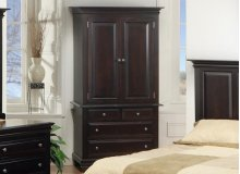 Florentino 2 pc TV Armoire W/2 Shelves
