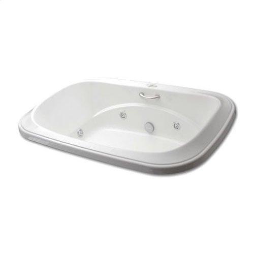 "Easy-Clean High Gloss Acrylic Surface, Oval, AirMasseur® - Whirlpool Bathtub, Signature Package, 48"" X 72"""