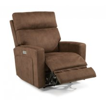 Ezra Fabric Power Recliner with Power Headrest