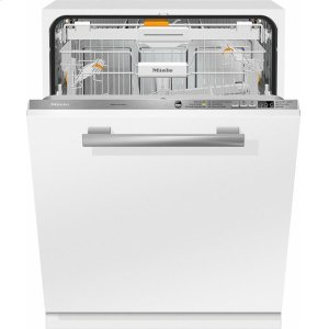 MieleG 6665 SCVi AM Fully-integrated, full-size dishwasher with hidden control panel, 3D+ cutlery tray, custom panel and handle ready