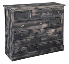 Marketplace Weathered Black Cabinet