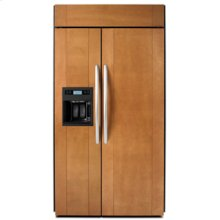 """Side-by-Side Dispensing 29.7 cu. ft. 48"""" Width Requires Custom or Accessory Panels"""