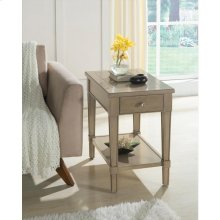 Parkdale - Chairside Table - Dove Grey Finish