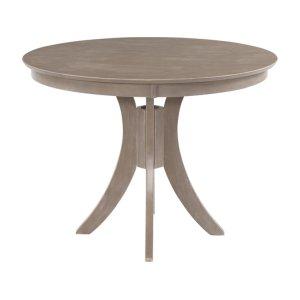 JOHN THOMAS FURNITURE36'' H Siena Pedestal Table in Taupe Gray