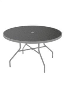 "Raduno 48"" Round HPL Dining Umbrella Table"
