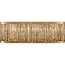 Visual Comfort NW2226GI Niermann Weeks Sophie 3 Light 18 inch Gilded Iron Linear Bath Light Wall Light, Niermann Weeks, Large