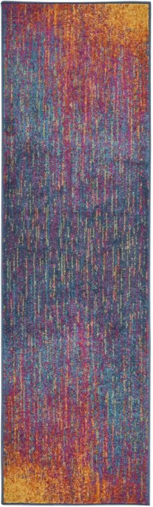 Passion Psn09 Multicolor Runner 2'2'' X 7'6''