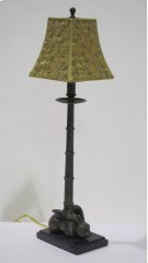 Brass Bunny Lamp Product Image