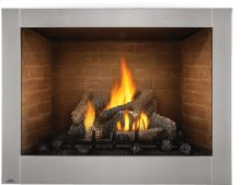 Riverside 42 Clean Face , Stainless Steel , Natural Gas