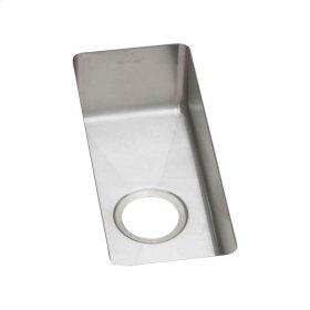 """Elkay Crosstown 16 Gauge Stainless Steel 10"""" x 20-1/2"""" x 6"""", Single Bowl Undermount Sink"""