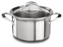 Copper Core 8-Quart Stockpot with Lid - Stainless Steel