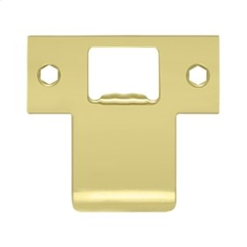 "Extended T-Strike (2-3/4"" x 2-1/2"") - Polished Brass"