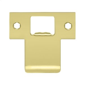 """Extended T-Strike (2-3/4"""" x 2-1/2"""") - Polished Brass"""