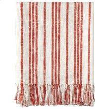 Grain Sack Throw, RED, THRW