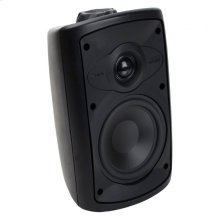 Black, Indoor/Outdoor Loudspeaker; 5-in. Poly Woofer 2-Way-Black OS5.3 - Black