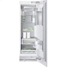 "Vario freezer 400 series RF 463 700 fully integrated Niche width 24"" (61 cm), Niche height 84"" (213.4 cm) Right-hinged"