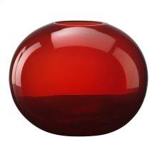 Large Red Pod Vase