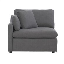 Left Side Chair with 1 Pillow