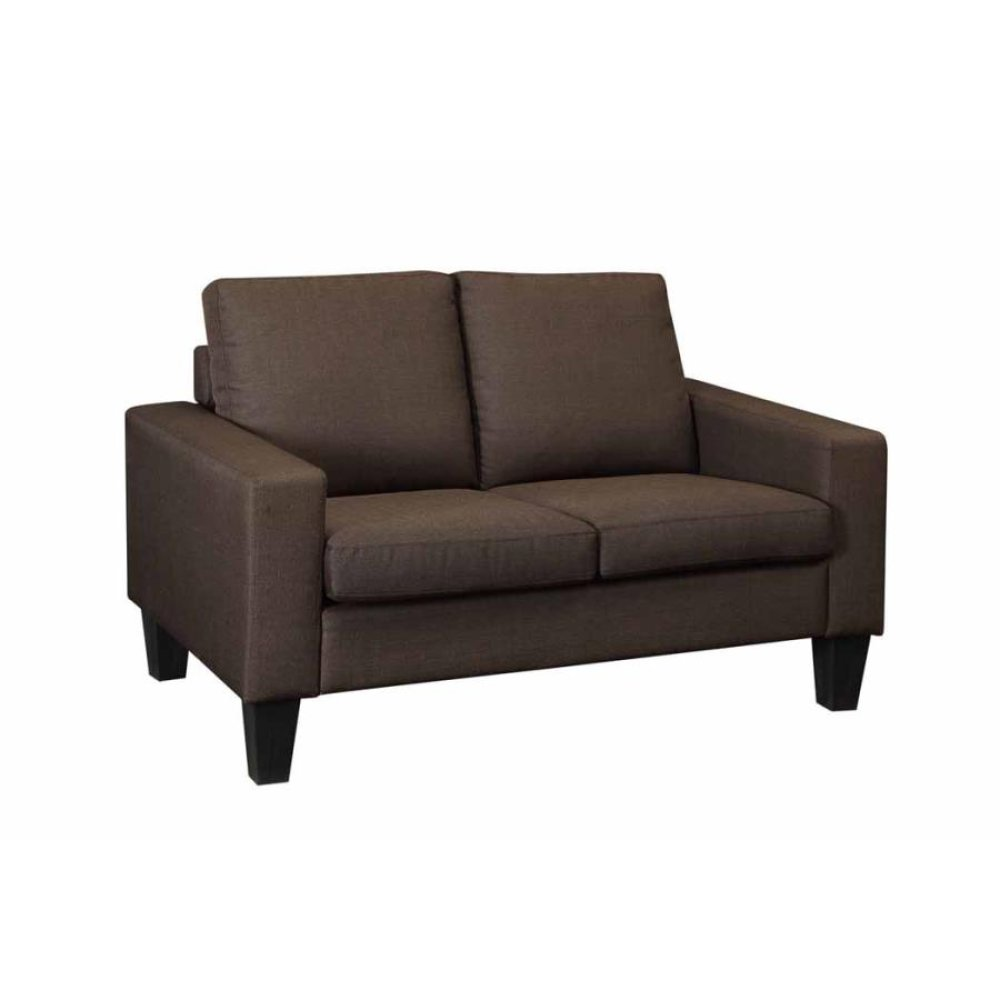 Bachman Transitional Chocolate Loveseat
