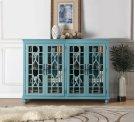 Anthology Meghan Blue 4-Door Chest Product Image