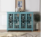 Anthology Meghan Blue 4-Door Chest Product Image