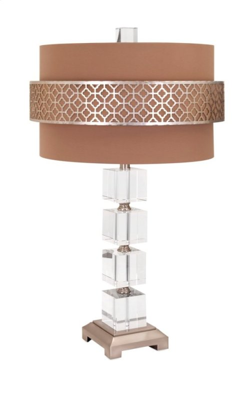 BF Mitchell Crystal Table Lamp