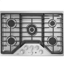 "30"" Built-In Deep-Recessed Edge-to-Edge Gas Cooktop"