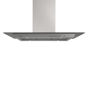 "Wolf45"" Cooktop Island Hood - Glass"
