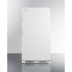 SummitLarge Capacity All-refrigerator With Frost-free Operation and Fan-forced Cooling
