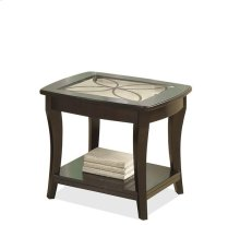 Annandale Side Table Dark Mahogany finish
