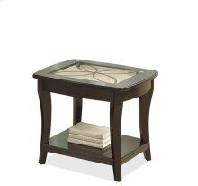 Annandale Side Table Dark Mahogany finish