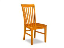 Mission Dining Chairs Set of 2 with Wood Seat in Caramel Latte
