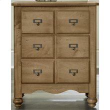 2 Drawer Apothecary Night Stand