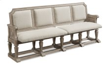 Arch Salvage Becket Dining Bench - Parchment