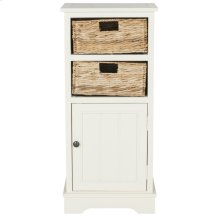 Connery Cabinet - Distressed White