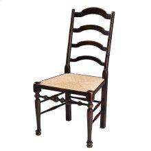 Ebony Side Chair, Ebonized Walnut Fnsh