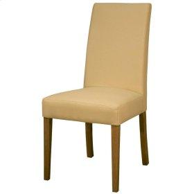 Hartford Bonded Leather Chair NWO Leg, Cream