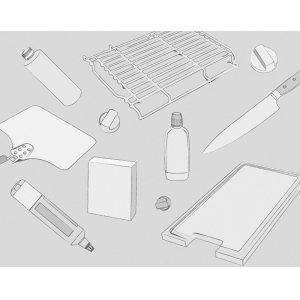 WolfTransitional Grill Module Briquette Replacement Kit