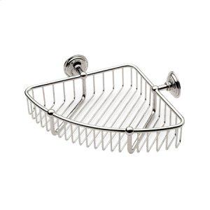 """Polished Chrome 9"""" Corner Basket Product Image"""