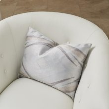 Mirror Match Lumbar Pillow-Grey/Blue