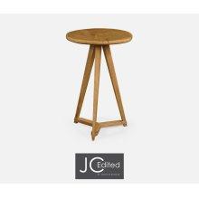 Oak & Oyster Side Table