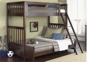 Twin Upper-Lower Headboard and Footboard